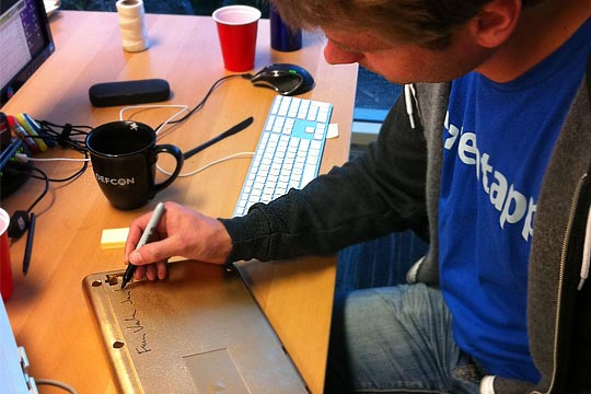 Fredrik and the Golden Keyboard - AppFolio Hack Day