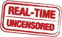 "Icon with message ""real-time uncensored""."