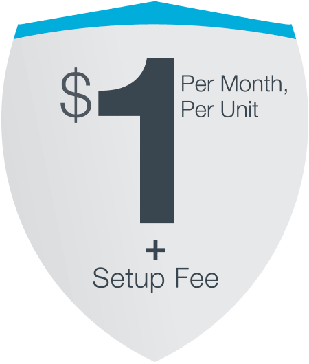 AppFolio Pricing - $1 per month per unit plus setup fee