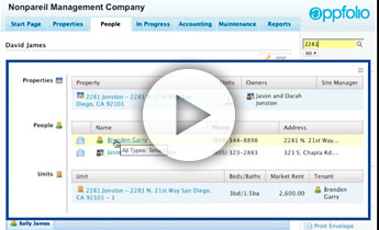 Universal Search - AppFolio Property Management Tools